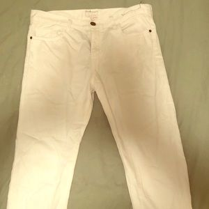 Current Elliot White Denim